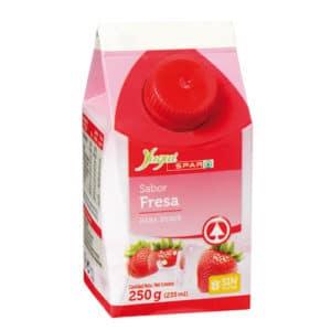 Yogur liquido fresa 250 gr