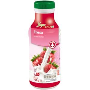 Yogur liquido fresa 750 gr