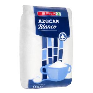 AZÚCAR BLANCO SPAR 1 KG. (EXCLUSIVO CANARIAS)