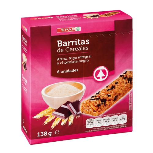 Barritas Cereales