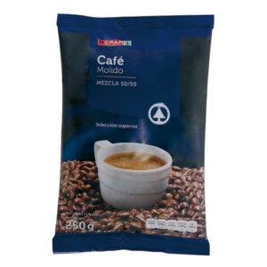 cafe-molido-mezcla-almohadilla-Canarias