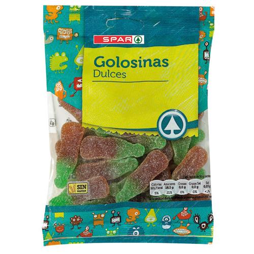 Caramelos y Golosinas de goma (Surtido de Canarias)