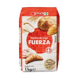 HARINA DE TRIGO FUERZA SPAR 1 KG.