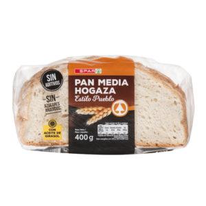 """PAN MEDIA HOGAZA """"ESTILO PUEBLO"""" SPAR 400 GRS."""