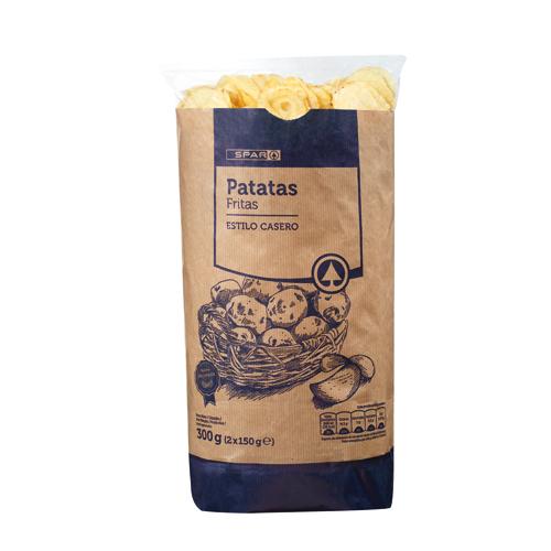 Patatas fritas, snacks, cortezas y otros fritos
