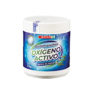 QUITAMANCHAS OXIGENO ACTIVO SPAR ROPA BLANCA 1 KG.