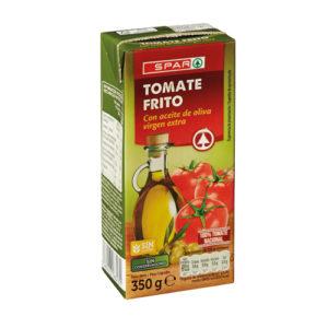 TOMATE FRITO SPAR CON ACEITE DE OLIVA VIRGEN EXTRA BRIK 350 GRS. P.N.