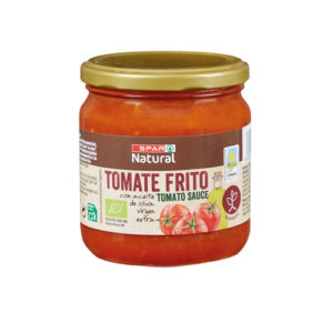 TOMATE FRITO BIO SPAR NATURAL FRASCO 340 GRS. P.N.